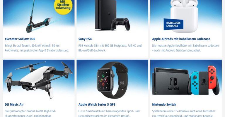 Bundle-Angebot: iPhone 11 (Pro) inkl. Apple Watch Series 5 oder AirPods geschenkt 1
