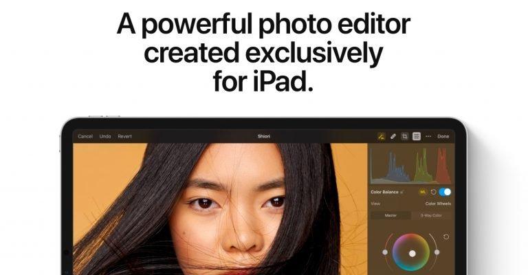 Ladebefehl: Pixelmator Photo für iPad kostenlos erhältlich 1