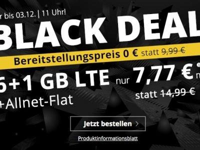 PremiumSIM: 7 GB LTE für 7,77€ mit Telefon-Flat, SMS-Flat, EU-Flat 3